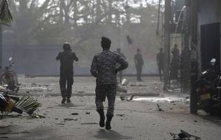 На Шри-Ланке прогремел очередной взрыв