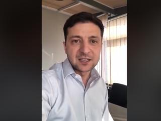 Зеленский записал видеообращение по поводу роспуска Верховной Рады