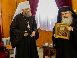 Митрополит Антоний: Патриарх Феофил чувствует на себе великую ответственность за единство православного мира