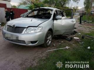 В Харькове в салон автомобиля метнули боевую гранату. Водитель выскочить не успел…