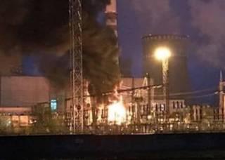 На Ровенской АЭС произошел большой пожар. Это уже второе ЧП за последние дни