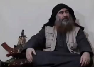 Лидер ИГИЛ записал первое видео за пять лет (18+)