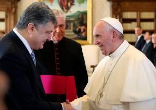 Порошенко демонстративно потоптался по православию, показав свое истинное лицо