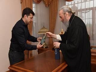 Митрополит Онуфрий обсудил с Владимиром Зеленским религиозую ситуацию в Украине
