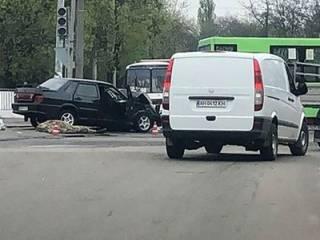На Донбассе в ДТП разбились бойцы ВСУ
