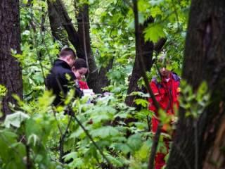 В Киеве прямо в парке висел труп молодого парня (18+)