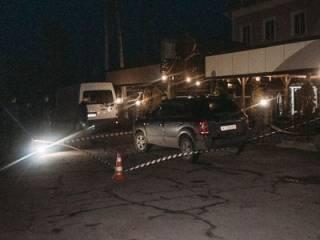 Под Киевом прямо у ресторана расстреляли полицейского начальника