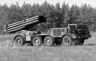 Украинский арсенал: РСЗО БМ-27 «Ураган»