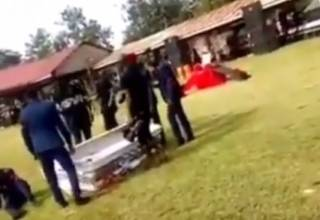 Танцы на похоронах в одной из африканских стран завершились неприятным инцидентом