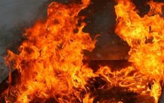 Пожар в Ирпене: в огне погибла слепая девочка
