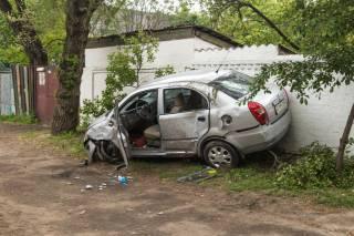 ДТП в Днепре: перевернулся автомобиль – пострадала девушка