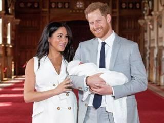 Британский таблоид считает, что сына принца Гарри назвали в честь кота