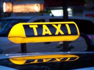 Крупные службы такси начали отказываться от услуг евробляхеров