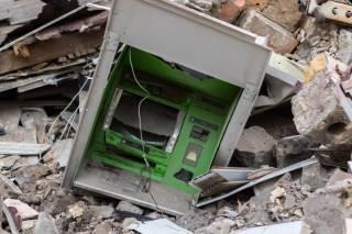 В Днепре неизвестные подорвали банкомат, но денег не взяли