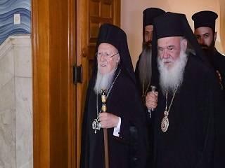 Константинопольский Патриарх и Предстоятель Элладской Церкви обсудят «украинский вопрос»