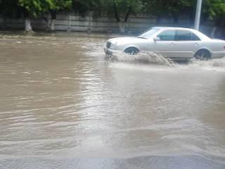 На Ровенщине из-за сильного дождя подтопило десятки хозяйств