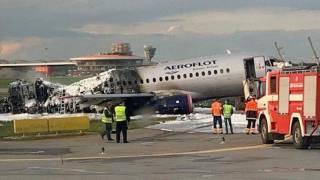 Завершилась расшифровка «черных ящиков» с сгоревшего в «Шереметьево» авиалайнера Sukhoi Superjet 100