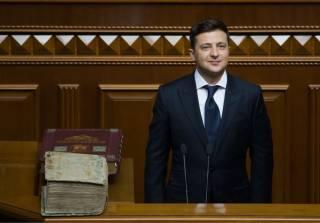 За сутки президентства Зеленский издал всего один указ