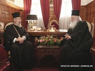 Предстоятель Кипрской Церкви призвал обсуждать украинский вопрос, думая о Церкви и «невзирая на личности»