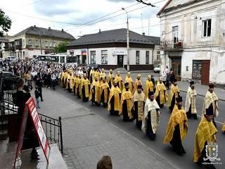 Православные Луцка отметили день Николая Летнего крестным ходом