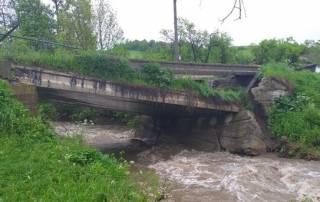 Из-за дождей на Закарпатье началось наводнение