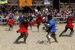 На Чемпионате мира под Киевом украинские рыцари победили 29 стран