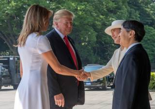Трамп слетал в Японию на встречу с новым императором