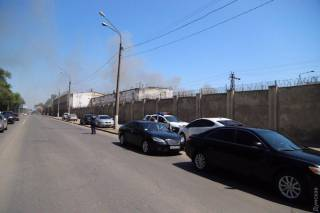 Бунт в одесской колонии: Здание в огне, говорят о массовом побеге зеков