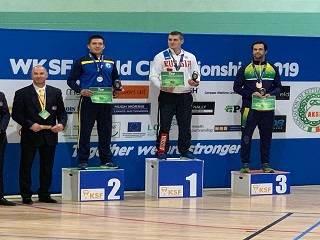 Будущий священник завоевал серебро на чемпионате мира по гиревому спорту