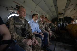 Зеленский, в отличие от Порошенко - не человек войны
