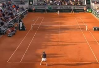Голуби атаковали чешскую теннисистку прямо во время матча