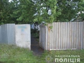Под Киевом пытались зарубить полицейского топором