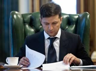 Зеленский частично изменил резонансный указ Порошенко
