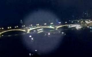 Появилось видео столкновения катеров в Будапеште