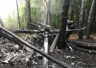 Стали известны подробности крушения военного вертолета в Ровенской области