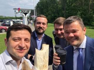 Зеленский добился крупного успеха в продвижении шаурмы, ‒ СМИ