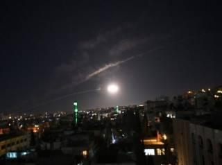 «Под покровом ночи». Израиль ударил ракетами по Сирии, ‒ СМИ