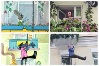 К 50-летию «Ну, погоди!» Доманский и Даугуле стали героями легендарного мультфильма