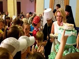 В Киеве две тысячи детей со всей Украины приехали на детский фестиваль УПЦ «Божьи Дети»