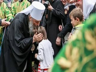 Митрополит Онуфрий рассказал о важности помощи «Детям Божьим»