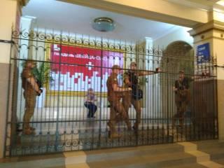 Администрация кинотеатра «Киев» заявляет о захвате здания «титушками»