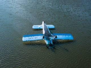 Исчезнувший с радаров самолет нашли в озере под Киевом