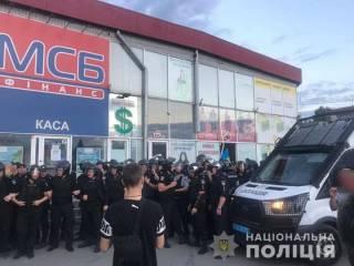 Появилось видео как бойцы Нацкорпуса стреляли по людям во время конфликта на «Барабашово»