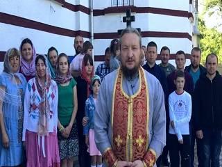 Верующие УПЦ села Задубровка на Буковине просят Зеленского защитить их права