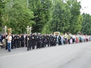 На Ровенщине верующие УПЦ пройдут крестным ходом 120 км