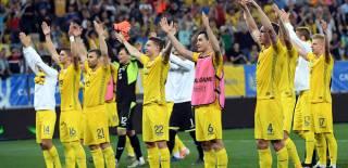 Сборная Украины неплохо поднялась в рейтинге ФИФА