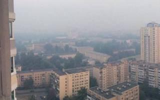 Из-за сильной жары в Киеве испортился воздух