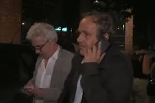 Мишель Платини вышел на свободу из полицейских застенок