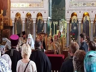 На Соборе УПЦ КП Филарет критикует Порошенко, Томос и название ПЦУ