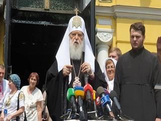 Филарет претендует на все деньги и имущество УПЦ КП